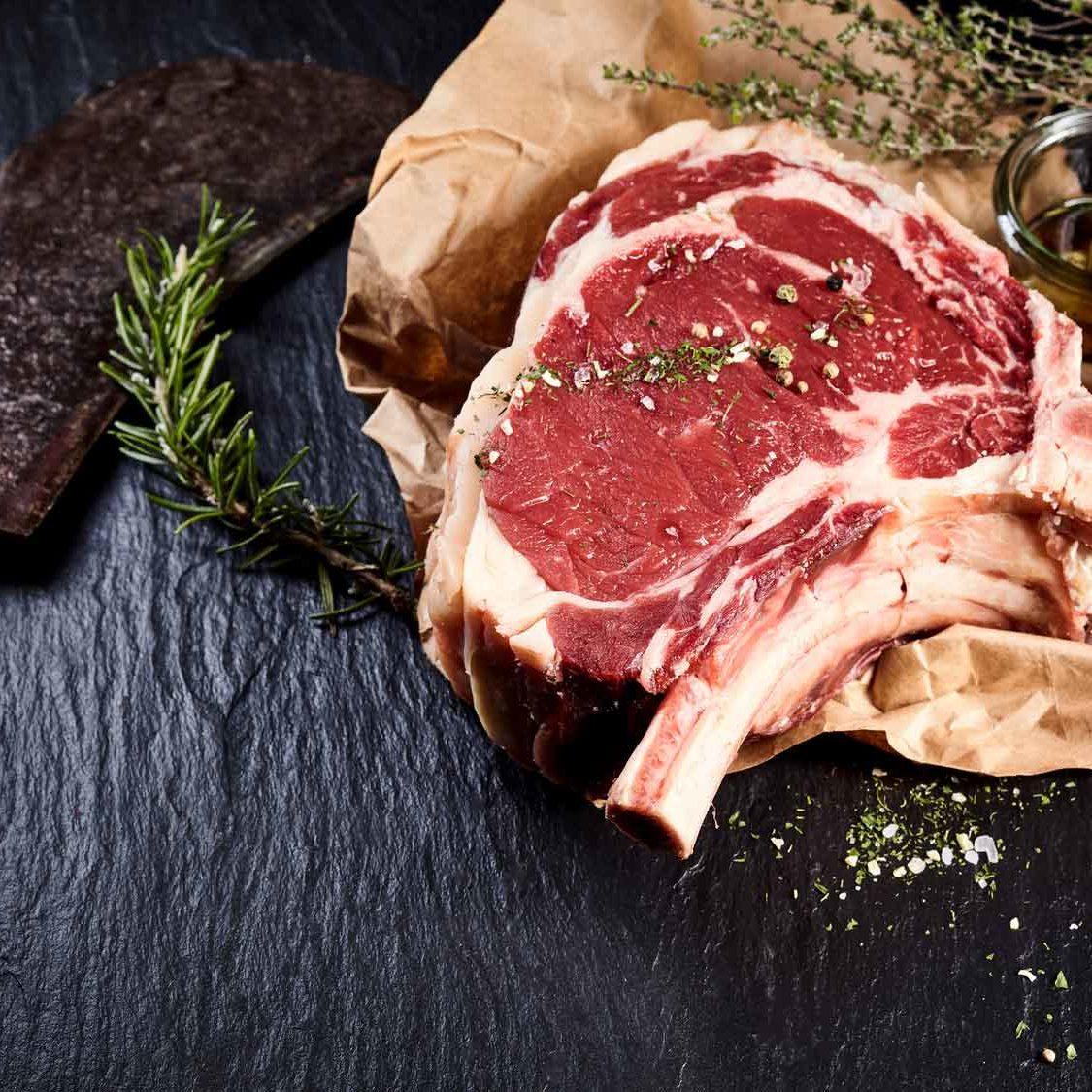 Ein guter Mix aus bestem Fett und eiweißreichem roten Rindfleisch – einfach lecker.