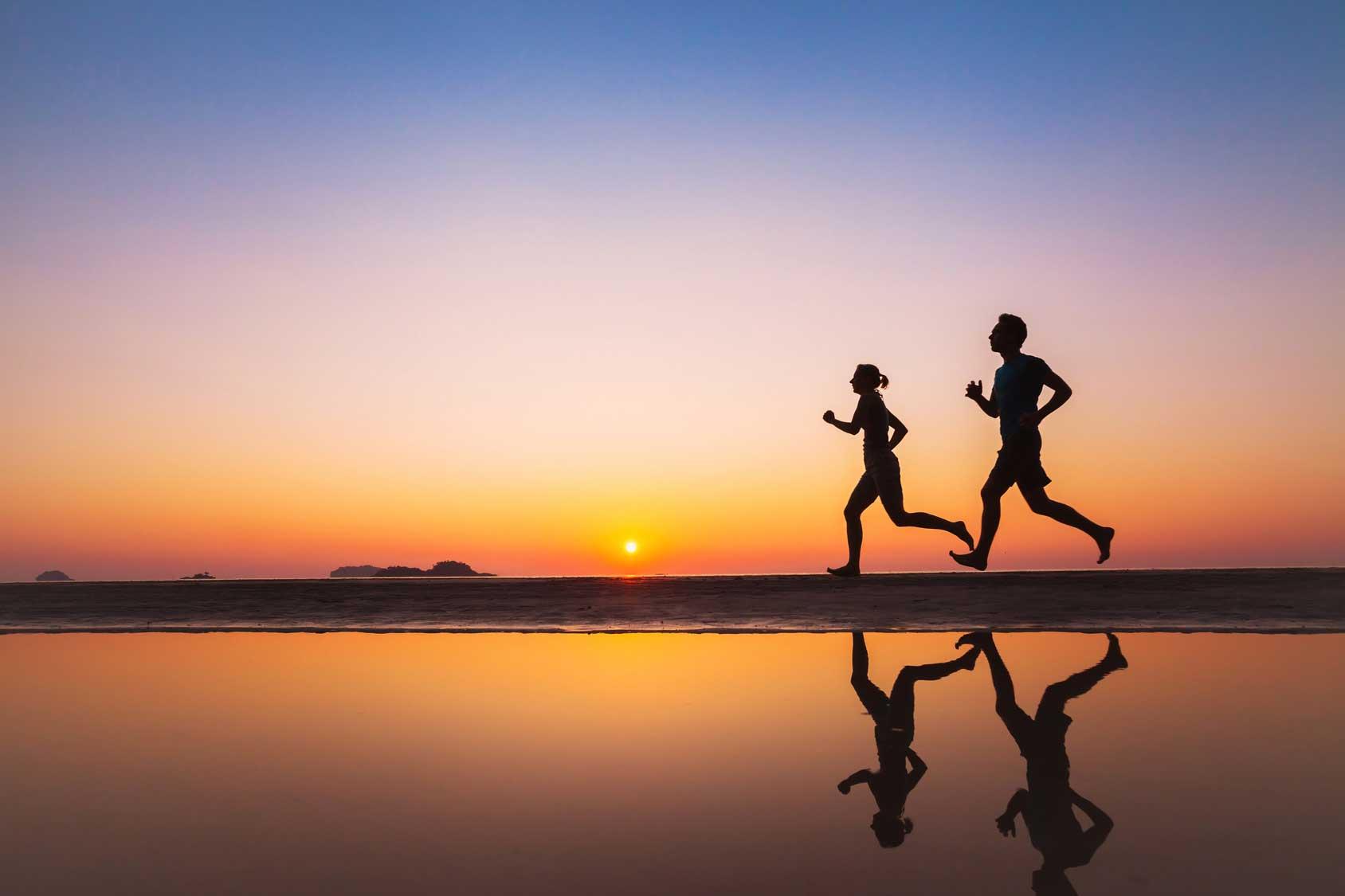 Ohne Bewegung erhöht sich die Stressanfälligkeit.