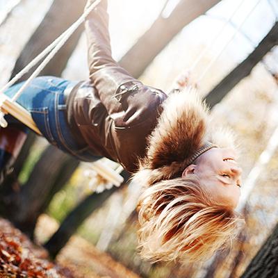 Die Seele baumeln lassen und sich treiben lassen.  Fühlen Sie sich frei!