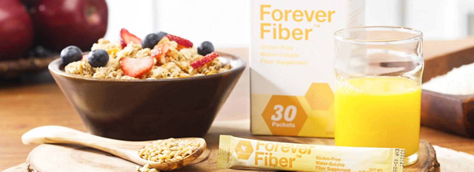 Forever Fiber™ ist ein Lebensmittel zur Ballaststoffversorgung.