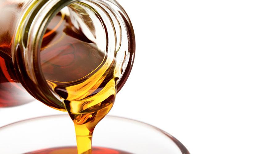 Aus 40 Litern Saft wird ein Liter Sirup.