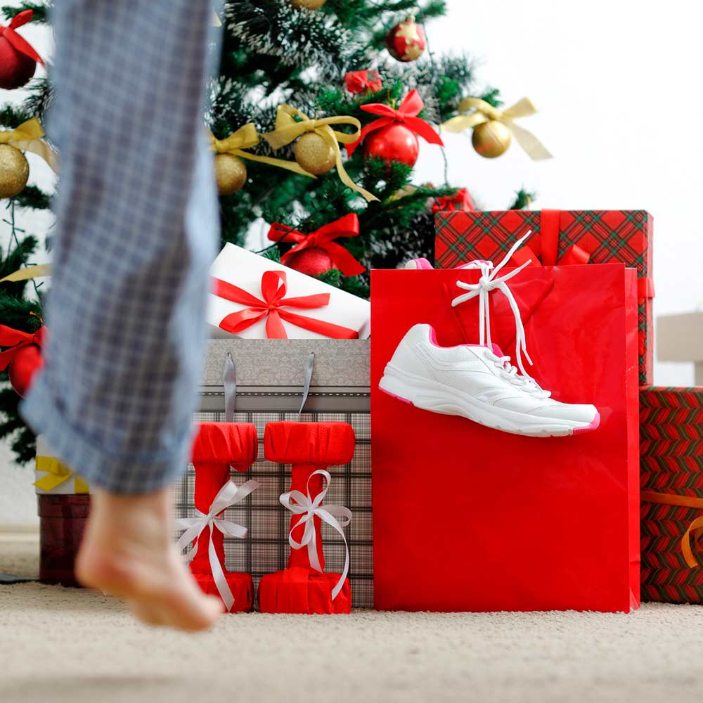 Sportlichkeit unterm Weihnachtsbaum.