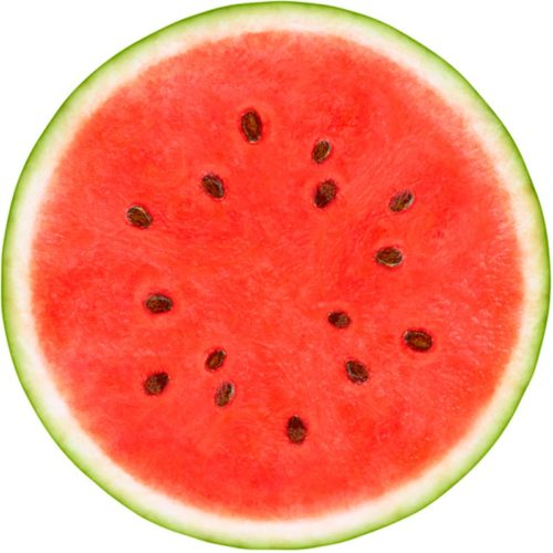 melone-rund