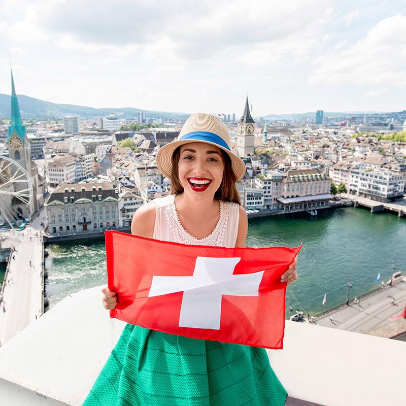 Die Schweizer sind ebenfalls sehr ernährungsbewusst, landen die Eidgenossen doch auf Platz 6.